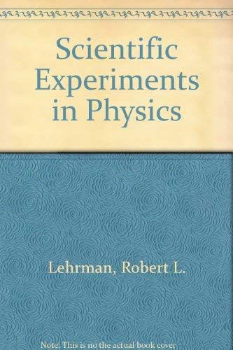 9780030635304: Scientific Experiments in Physics