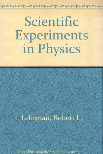 9780030635304: Scientific Experiments in Physics