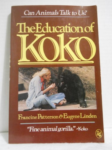 9780030635519: The Education of Koko