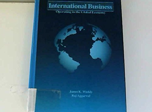 9780030635564: International Business: Operating in the Global Economy (The Dryden Press series in management)