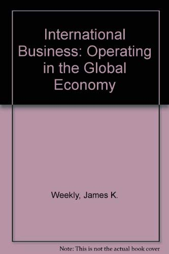9780030635571: International Business: Operating in the Global Economy