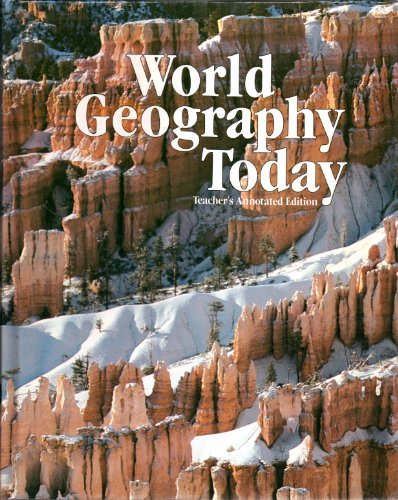 9780030637230: Teacher's Annotated Edition 1985 (World Geography Today HRW)