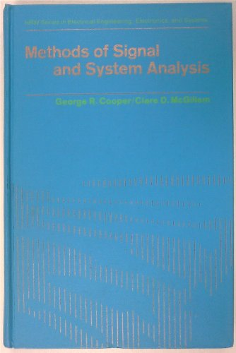 9780030637452: Methods of Signal and System Analysis