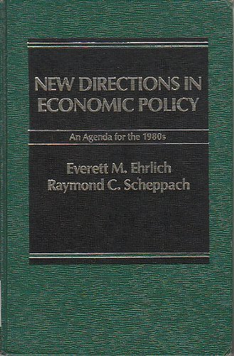 9780030637865: New directions in economic policy: An agenda for the 1980s