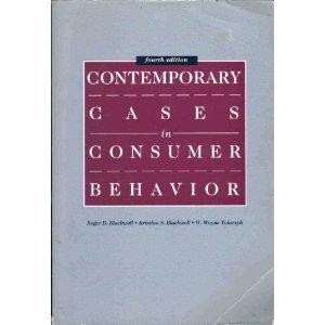 9780030639562: Contemporary Cases in Consumer Behaviour
