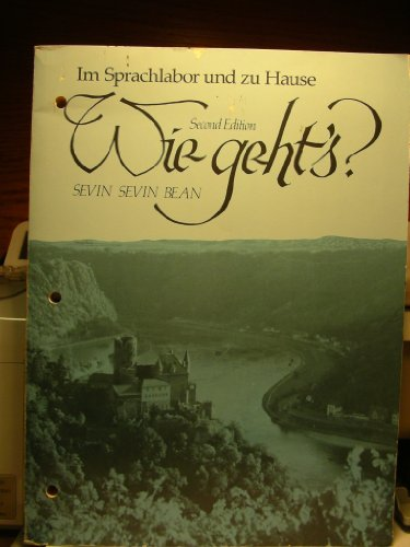 9780030639746: Wie Geht's : An Introductory German Course, Second Edition