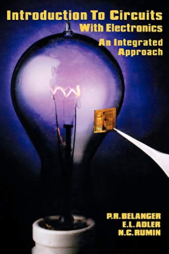 9780030640087: Introduction to Circuits with Electronics: An Integrated Approach (Hrw Series in Electrical and Computer Engineering)