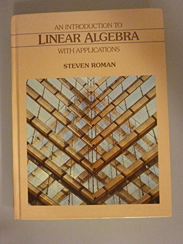 9780030640179: Introduction to Linear Algebra With Applications