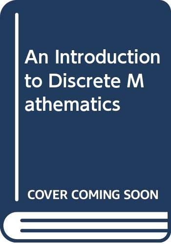9780030640193: An Introduction to Discrete Mathematics