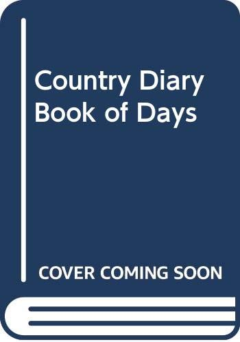 9780030640995: Country Diary Book of Days