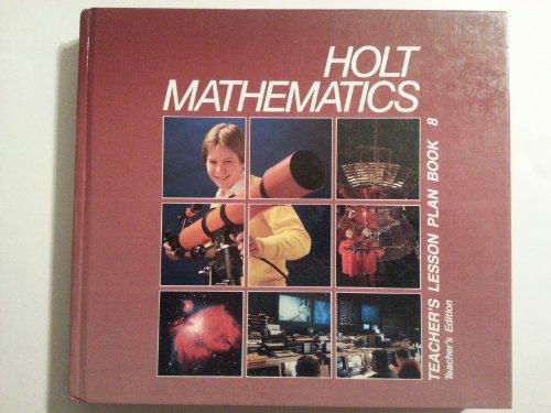 9780030642241: Holt Mathematics - Grade 8 (Teacher's Lesson Plan Book)