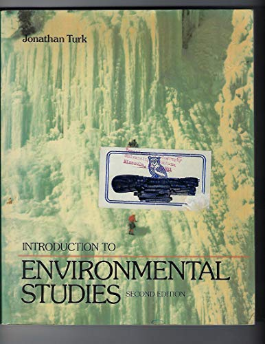 9780030642333: Introduction to Environmental Studies (Saunders golden sunburst series)