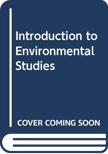 9780030642340: Introduction to Environmental Studies