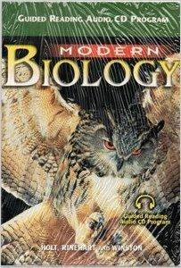 9780030642715: Modern Biology �2002, Guided Reading Audio CD Program 27pcs/set