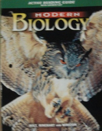 9780030642722: Modern Biology: Active Reading Guide with Answer Key