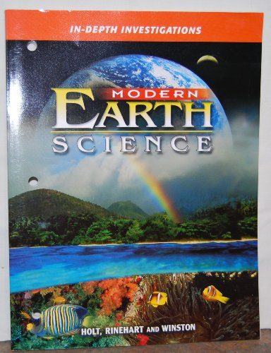 9780030642975: Modern Earth Science: IN-DEPTH INVESTIGATIONS