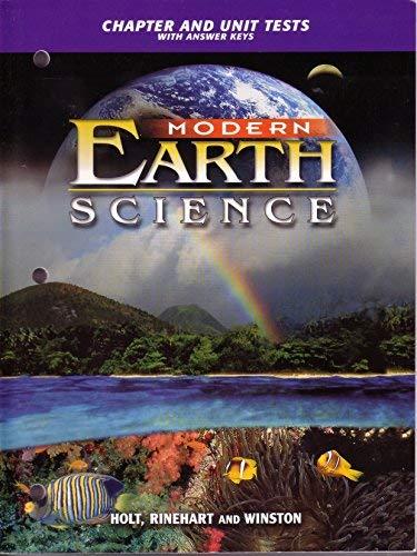 9780030643033: Ch & Unit Tests Mod Earth Sci 2002