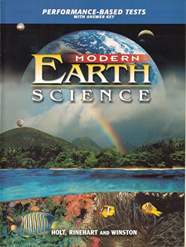 9780030643040: Performance-Bs Tests Mod Earth Sci 2002