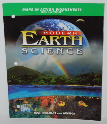 9780030643064: Maps in Action Worksheets with Answer Key (Modern Earth Science)