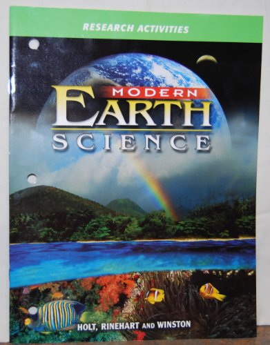 9780030643088: Research ACT Mod Earth Sci 2002