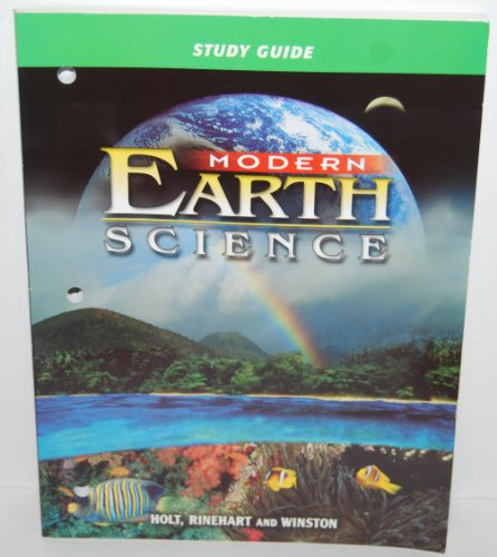 Modern Earth Science Study Guide: Winston, Holt Rinehart &