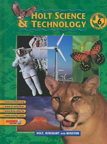 9780030643613: Holt Science & Technology, Grade 6