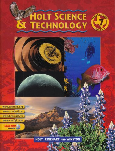 9780030643668: Texas Holt Science & Technology, Grade 1