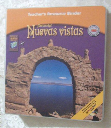 Tchr's Res Bndr Nuevas Vistas Crs 1: Holt Rinehart &