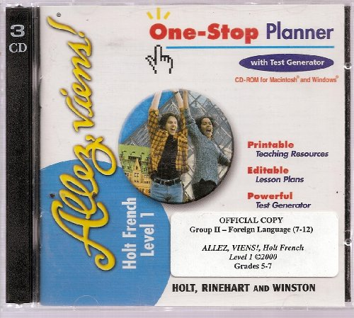 1-Stop Plan CD-R Allez, Viens! LV 1 2000: Holt