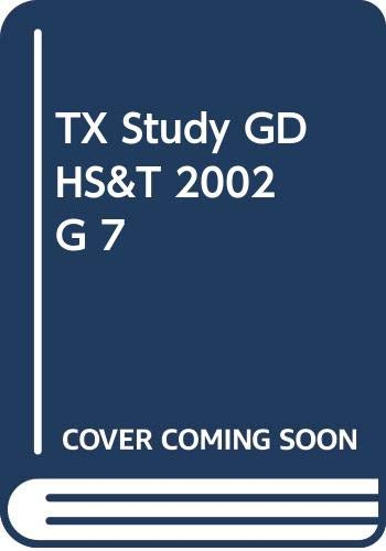 9780030644870: Holt Science & Technology Study Guide (Texas Edition Grade 7)