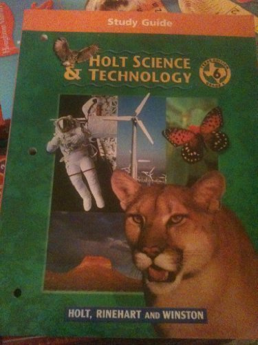 9780030644931: HOLT SCIENCE & TECHNOLOGY 6  STUDY GUIDE (P) TX ED.