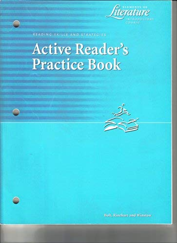 9780030645747: Elements of Literature 6 Introductory Course: Active Readers Practice Book