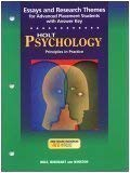 Essays & Research Themes Psych 2003: Winston, Holt Rinehart &