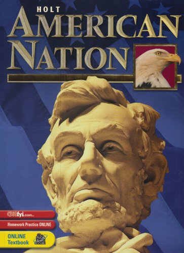 9780030646812: Holt American Nation: Student Edition Grades 9-12 2003