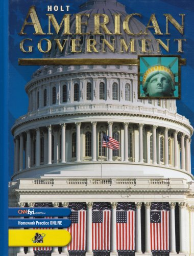 9780030646867: Holt American Government: Student Edition Grades 9-12 2003