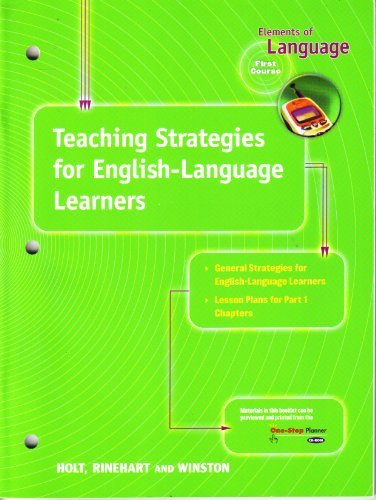 Teaching Strategies for English-Language Learners: Elements of: Evler