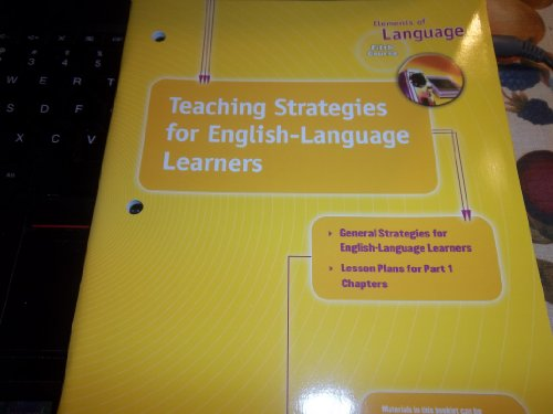 Elements of Language: Teaching Strategies For English: Holt
