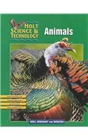 9780030647741: Holt Science & Technology: Animals Short Course B