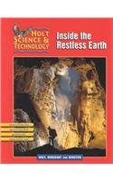 9780030647840: Inside the Restless Earth (Holt Science & Technology, Short Course F)