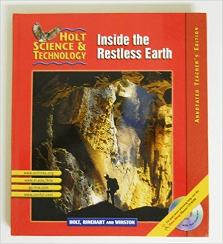 9780030647864: Inside the Restless Earth (Holt Science & Technology, Short Course F), Annotated Teacher's Edition