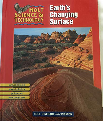 9780030647871: Holt Science & Technology [Short Course]: Pupil Edition [G] Earth's Changing Surface 2002