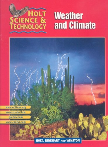 9780030647925: Weather and Climate (Holt Science & Technology, Short Course I)