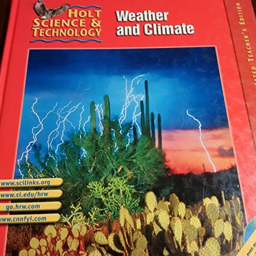 9780030647932: Weather and Climate: Holt Science and Technology Vol I