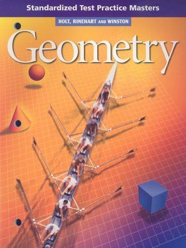 9780030648137: Holt Geometry: Standardized Test Practice Geometry