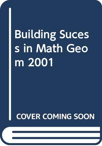 9780030648144: Holt Geometry: Building Success in Mathematics