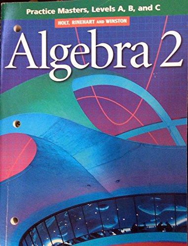 9780030648175: Algebra 2 Practice Masters, Levels A B & C