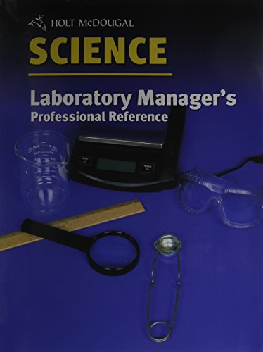 9780030649219: Laboratory Manager's Professional Reference (Holt Science)
