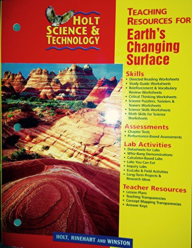 9780030649462: Teaching Resources for Earth's Changing Surface