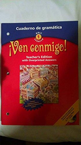 9780030649783: VEN CONMIGO! LV 1 2003 CUADERNO De Gramatica