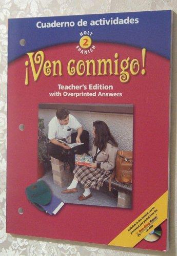 9780030649875: CUADERNO DE ACTIVIDADES - VEN CONMIGO! LV 2
